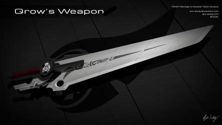 RWBY - (Harbinger) Qrow's Weapon 3D Model Render