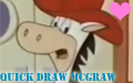 +Quick Draw McGraw Stamp+ by NoahandHaroldsgirl