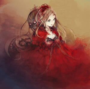 Rose underwater