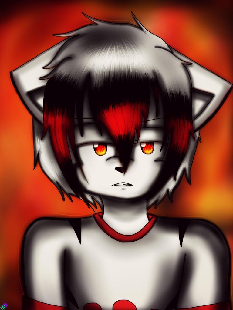 GIFT~ Nico~ Pyromania by LunaTheBunnie