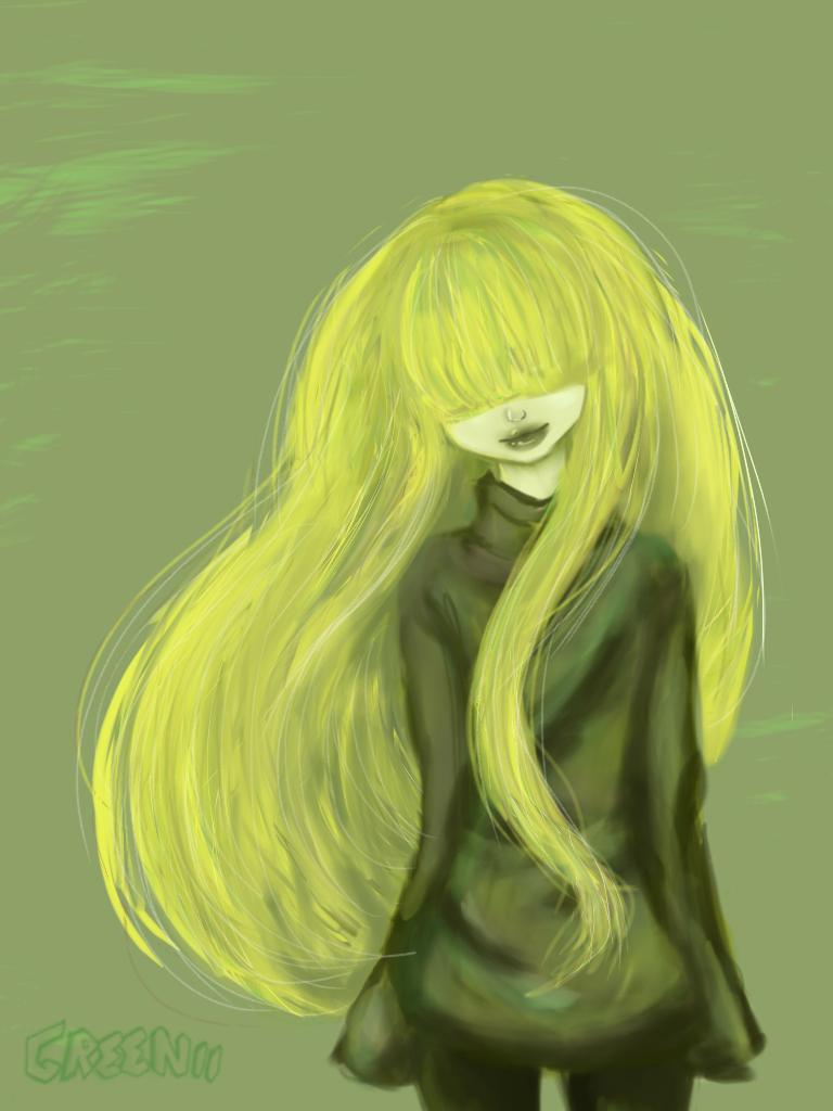 Greenii by LunaTheBunnie