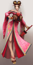 Setsuka from Soul Calibur by lunadementare