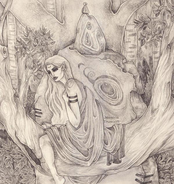 fae in a tree