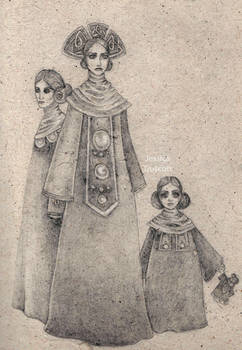 The Priestess and her daughters