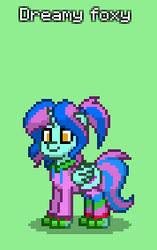 my pony town ocs Dreamy foxy