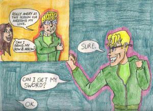 Can I Grab My Sword?