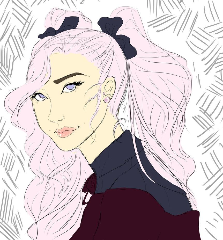 Maemi Sketch by SenshiOfMyth