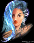Comet Girl by zekedoodles