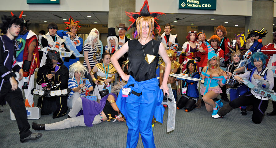 YUGI TAKES OVER YGO GATHERING by DrGengar