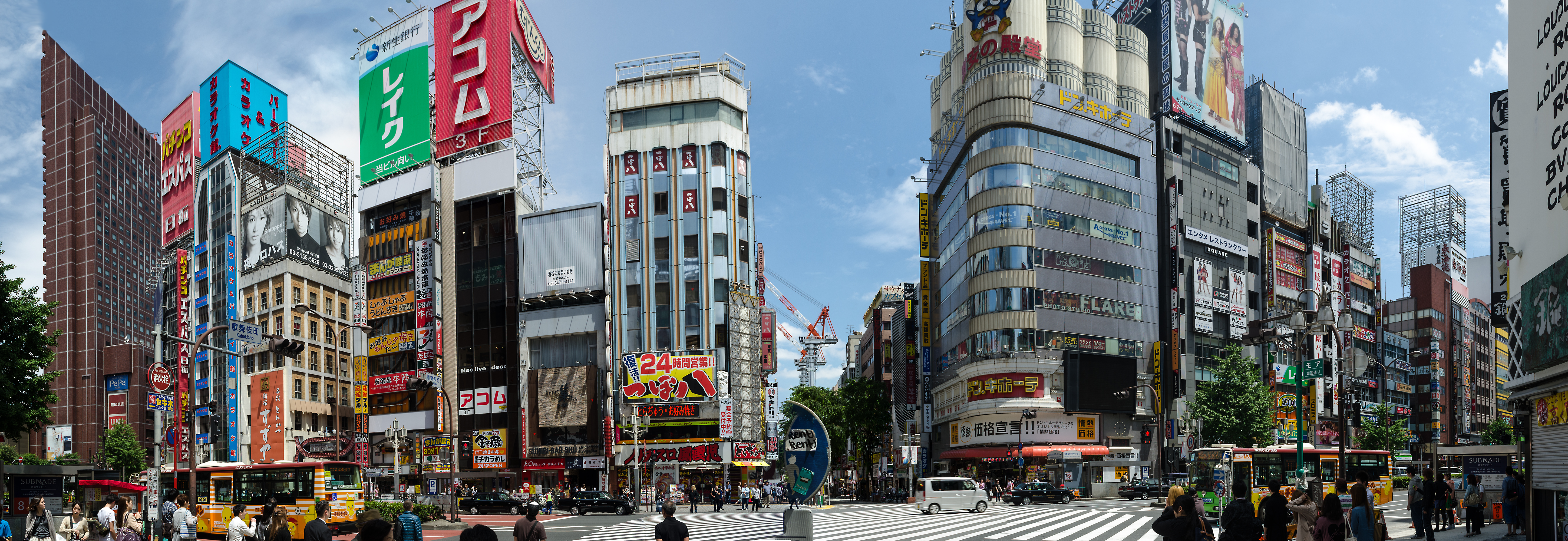 Shinjuku Panorama I by MarcAndrePhoto