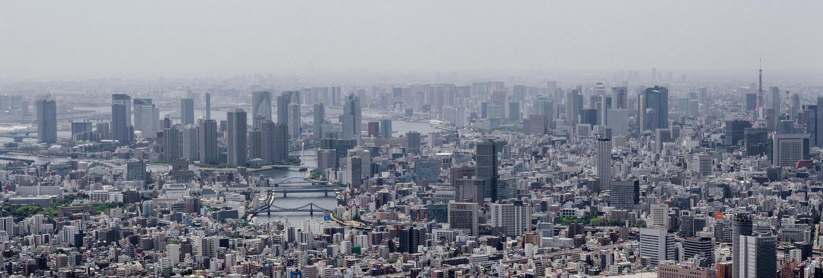 Tokyo Haze by MarcAndrePhoto