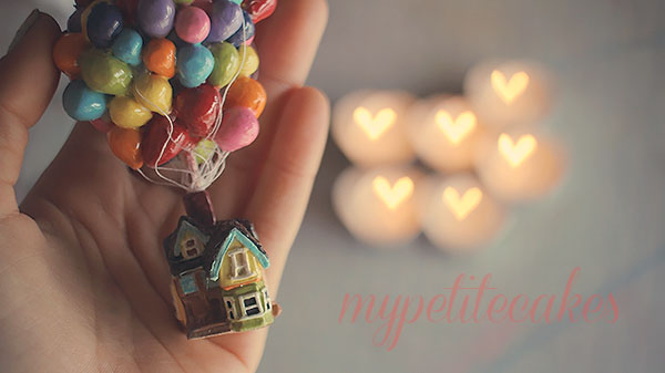 Polymer Clay UP House by MyPetiteCakes