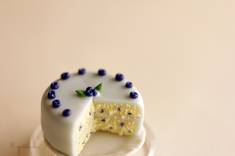 Blueberry Cake by MyPetiteCakes