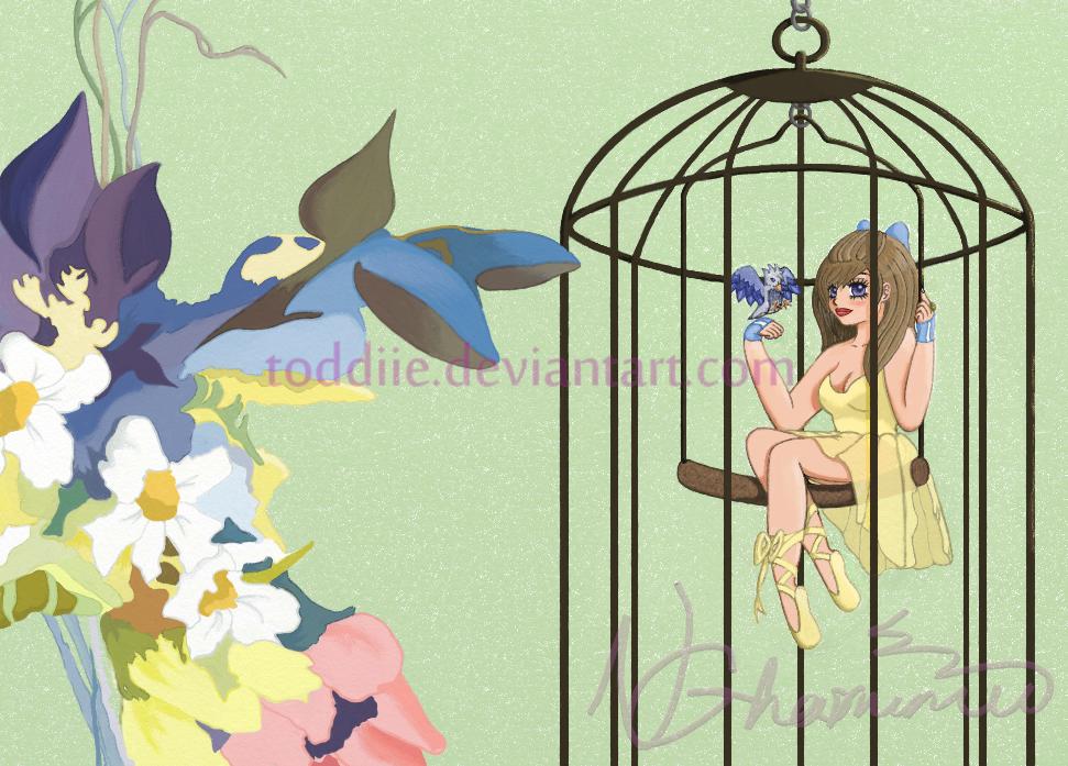 Danseuse en Cage by Toddiie