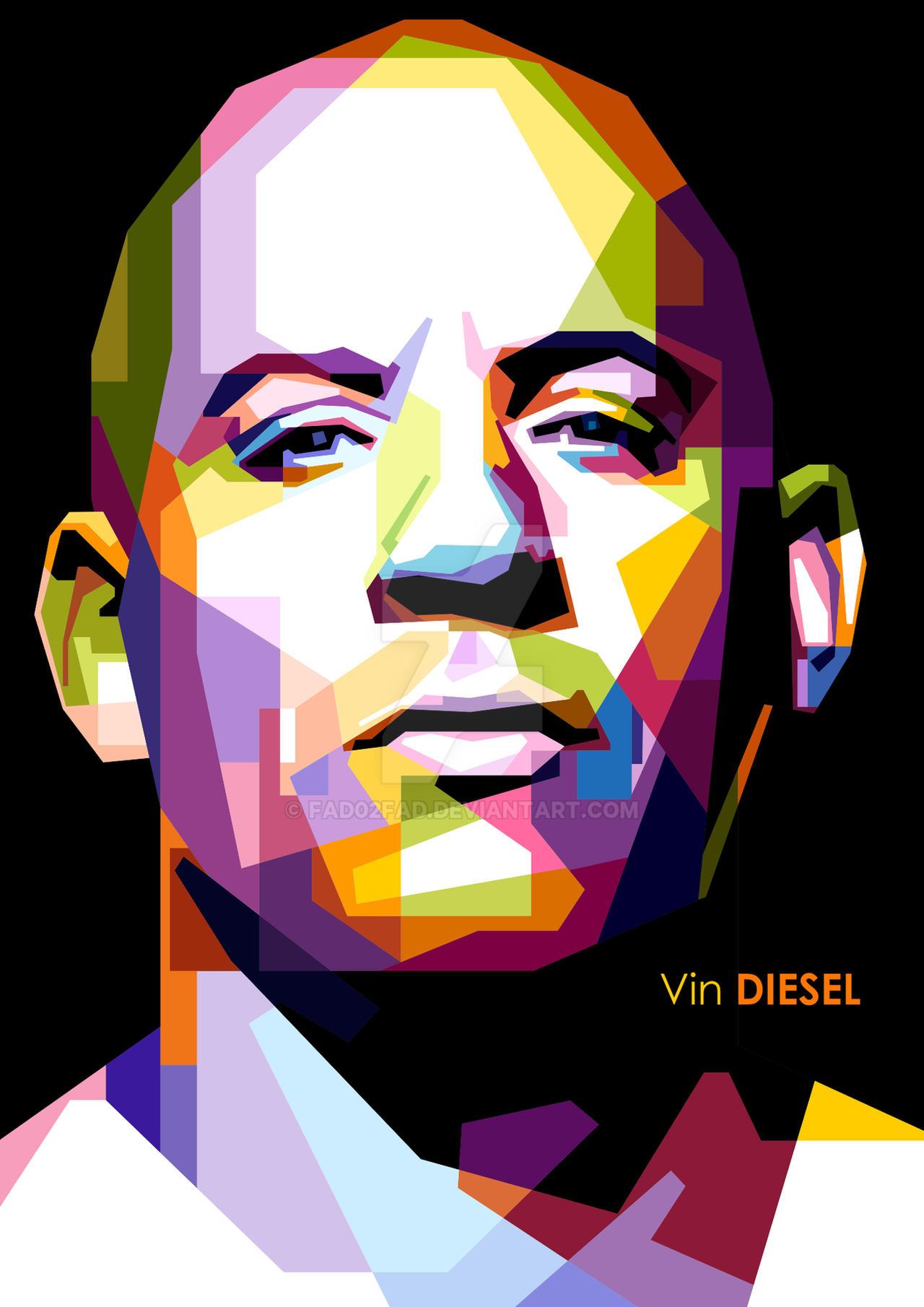 Vin Diesel In WPAP Open Order By Fad02fad