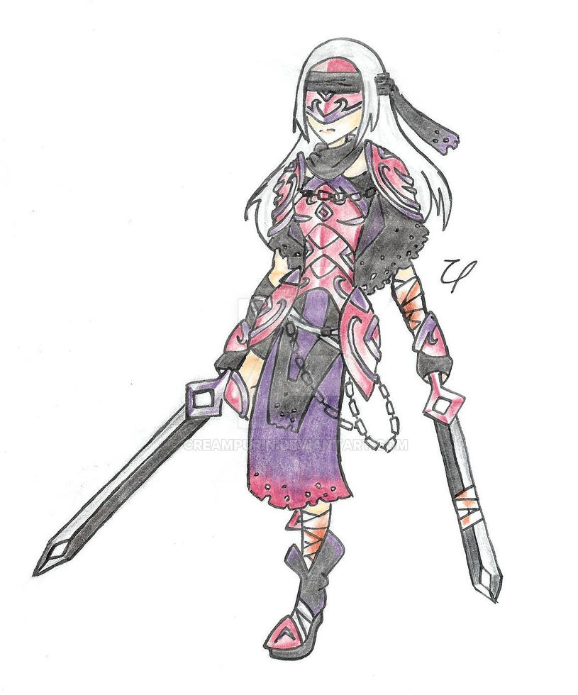 Dark Blade by CreamPurin