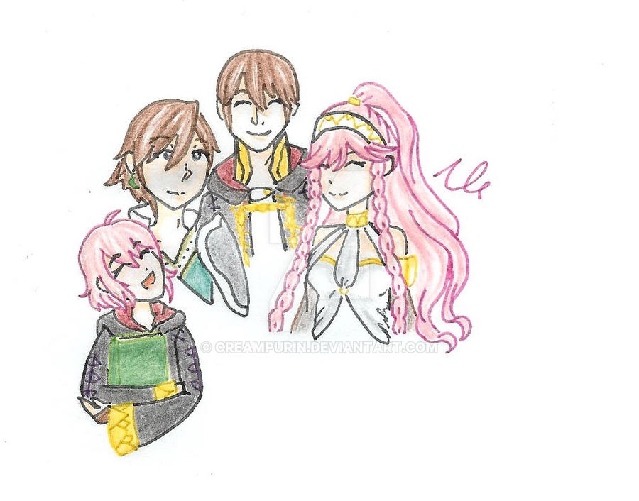 [REQUEST] Olivia X Antoine by CreamPurin
