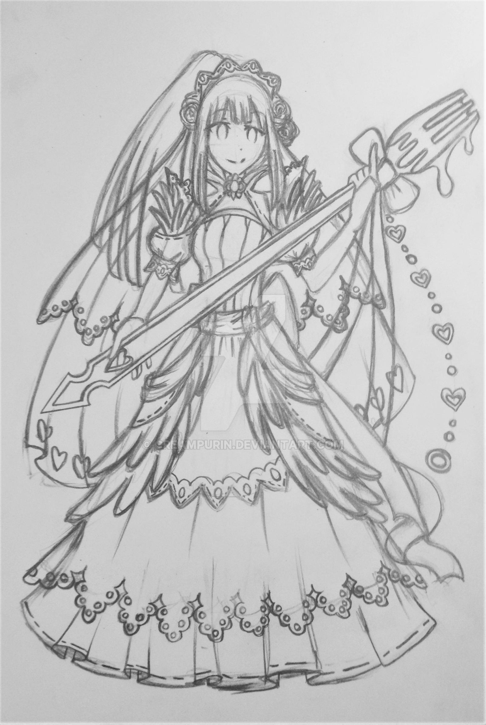 [REQUEST] Bride Felicia by CreamPurin