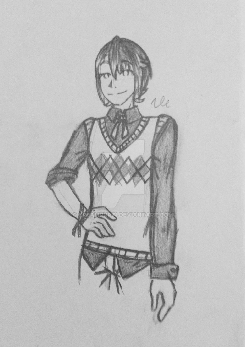 Modern Alfonse by CreamPurin