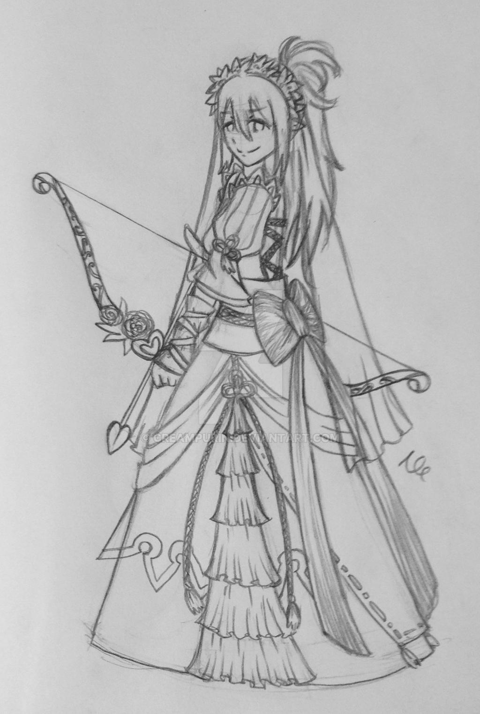 [REQUEST] Bride Oboro by CreamPurin