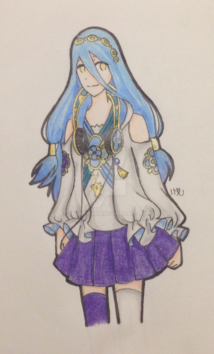 Modern Azura by CreamPurin