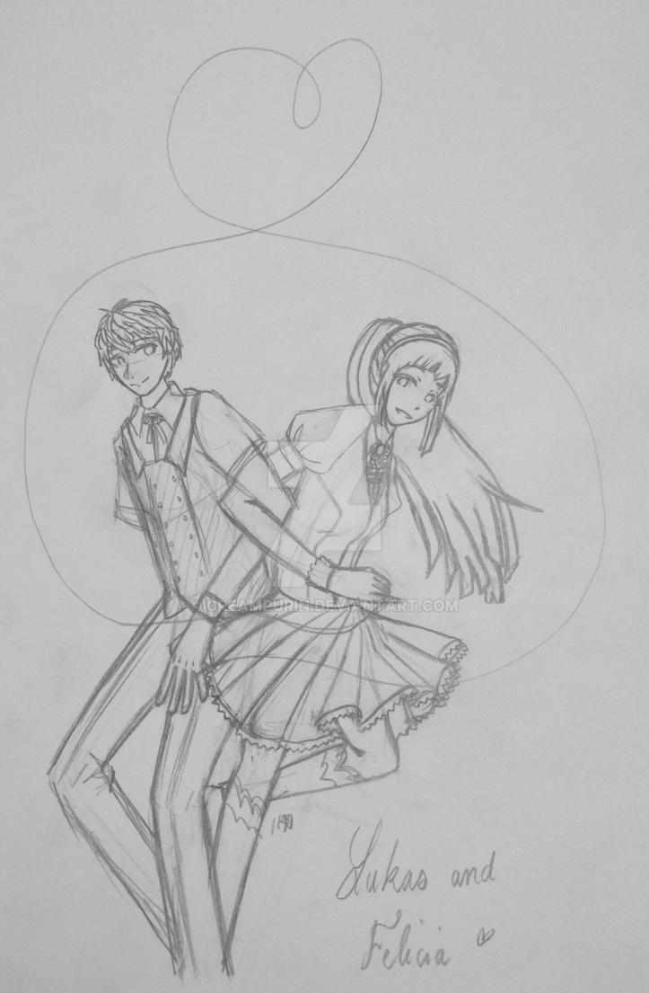 Modern Lukas and Felicia by CreamPurin