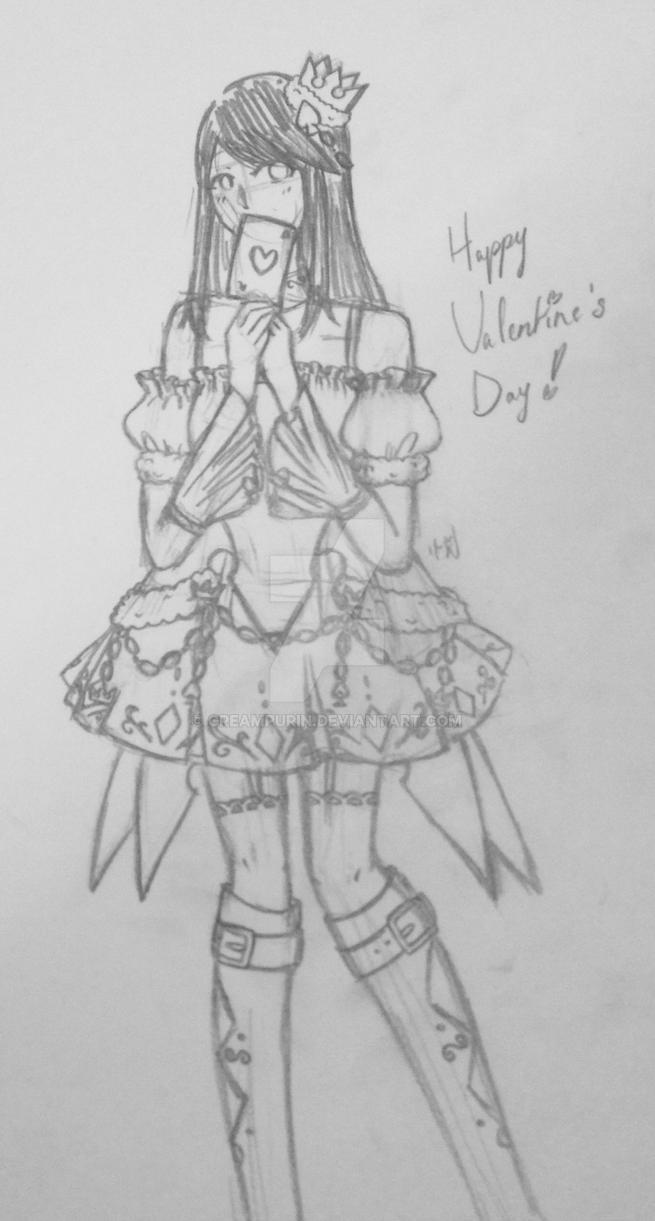 Happy Valentine's Day ! by CreamPurin