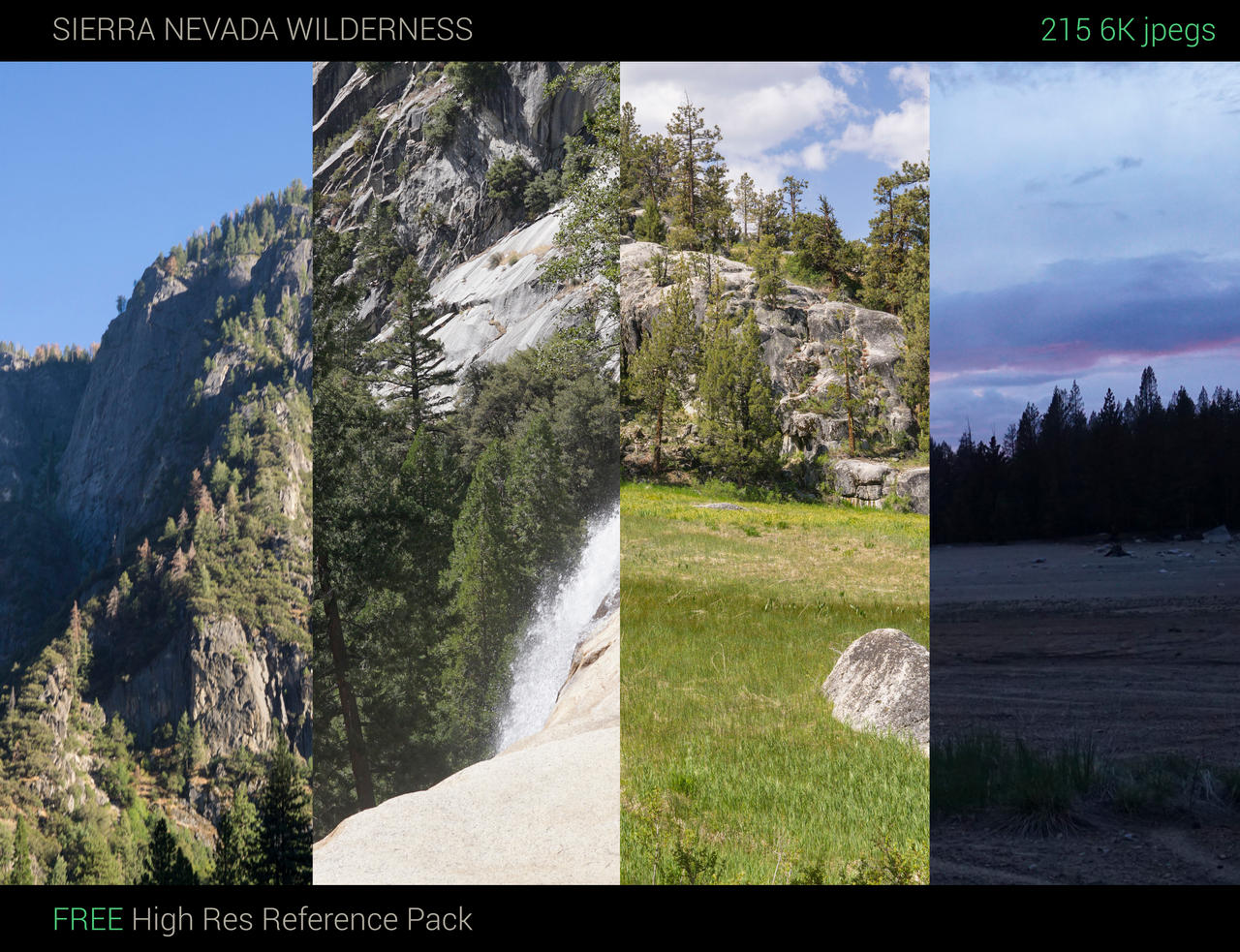 Sierra Nevada Wilderness Reference Pack by jonathanguzi