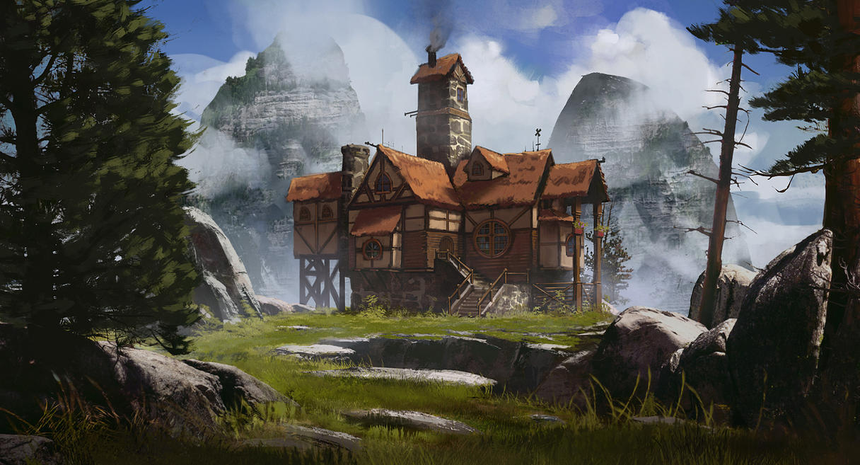 Hilltop Cottage By Jonathanguzi
