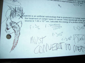 Yay for Chemistry class. xD