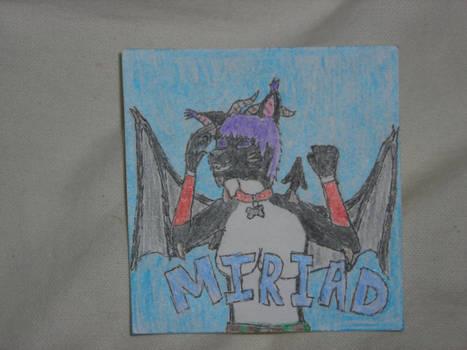 Miriad Badge.