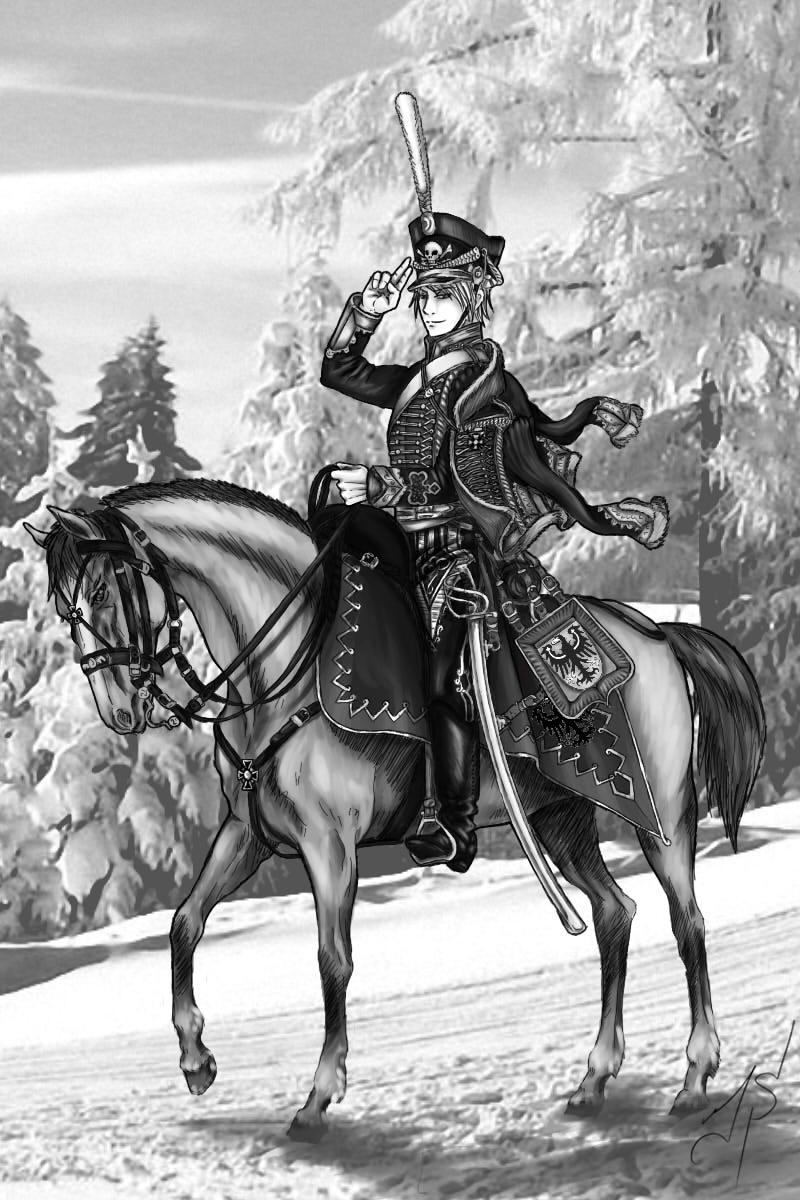 Schwarz Hussar