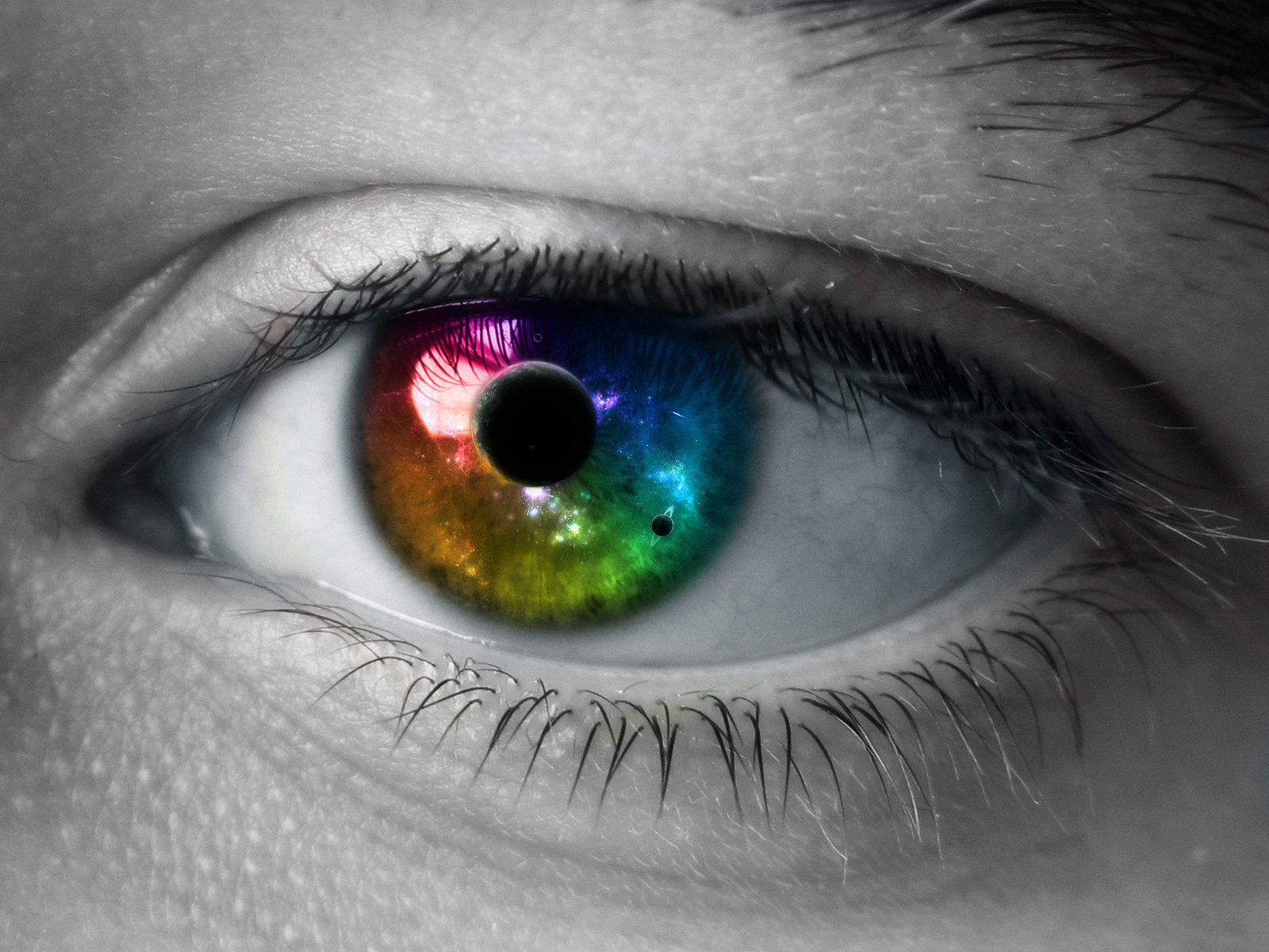 The World in my Eyes
