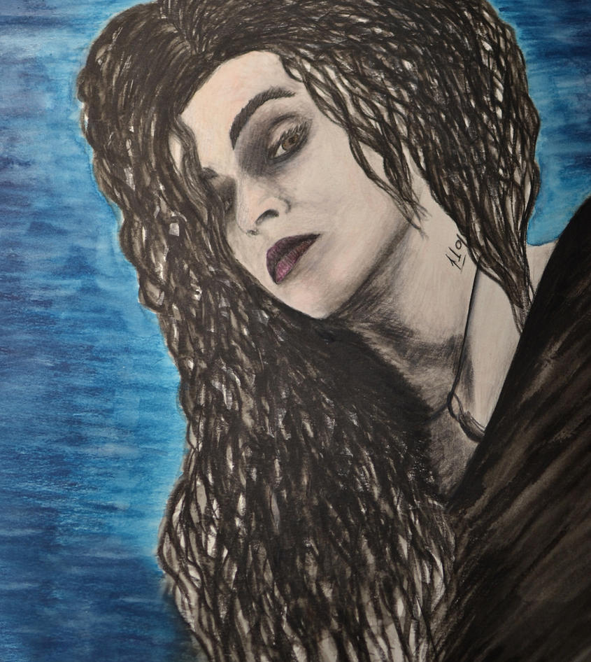 Bellatrix Lestrange by IrisGrass