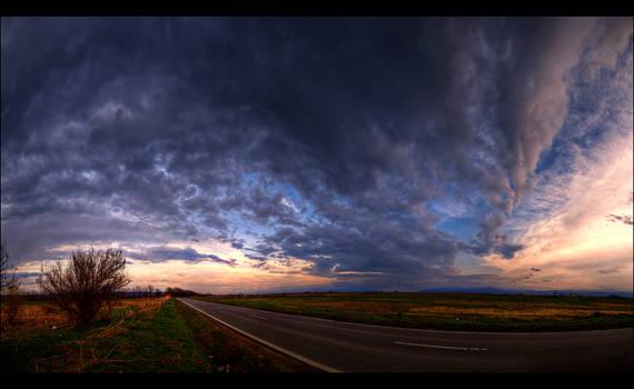 Clouds over Sibiu