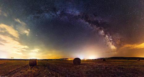 Night sky by andreimogan