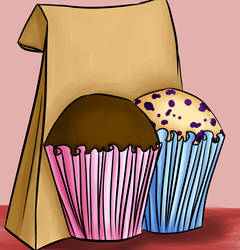 day 2: muffin time! by NatanarihelLiat