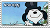 snoopy stamp