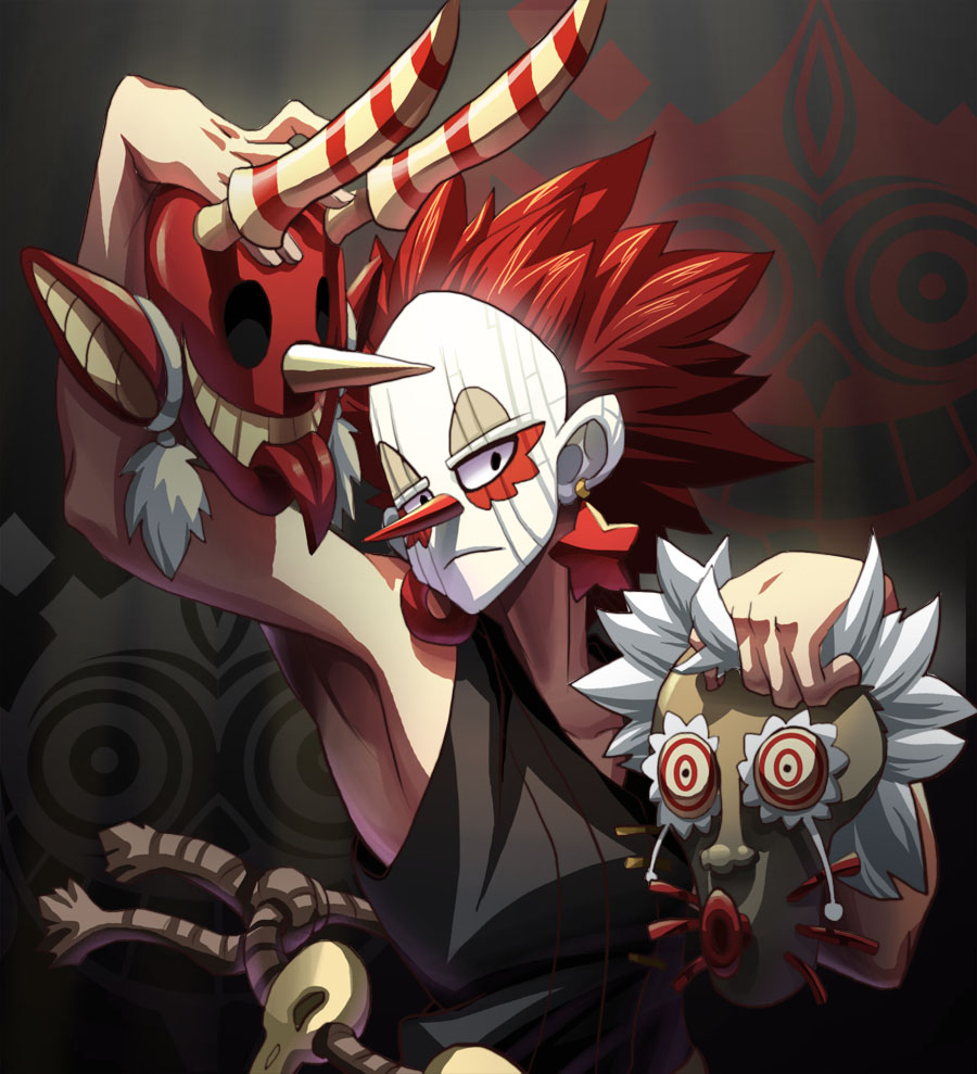 Wakfu - Masqueraider by YonYonYon