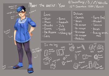 meet the artist by YonYonYon