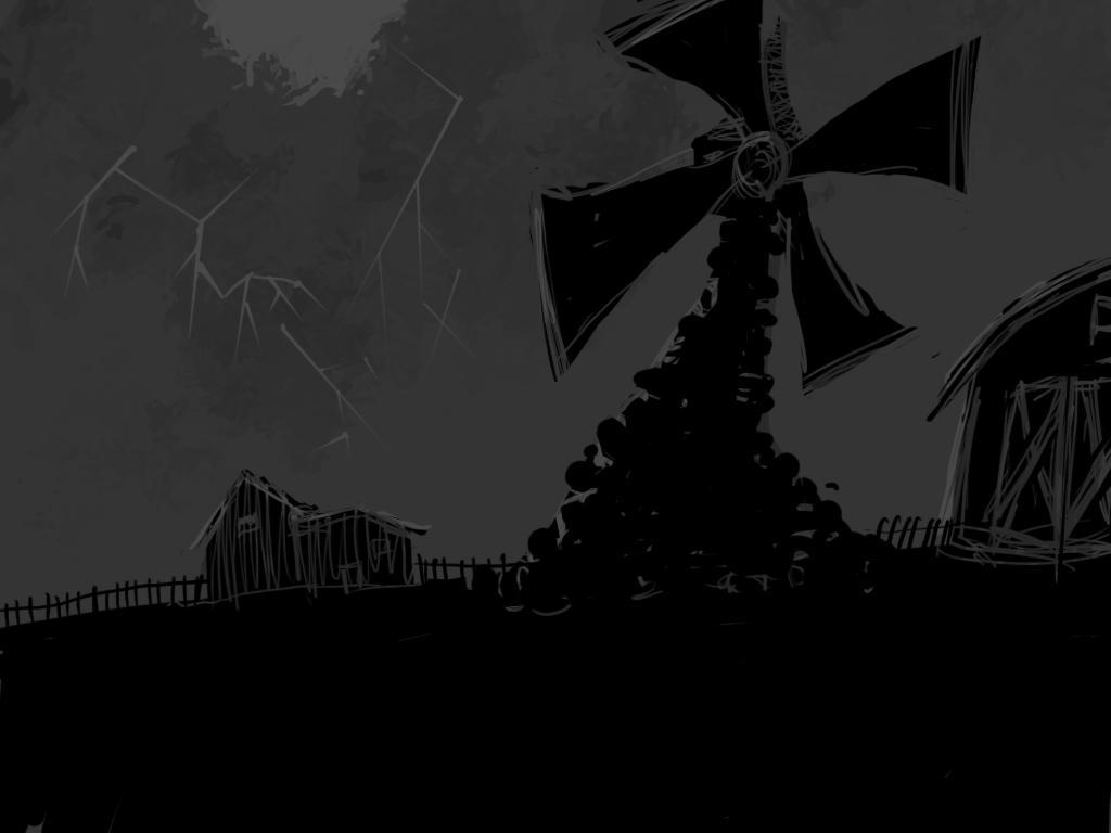 farm windmill drawing. Animal Farm Drawing By Allenwalton Windmill R