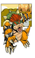 Nintendo ABC: B for Bowser by RNZZZ