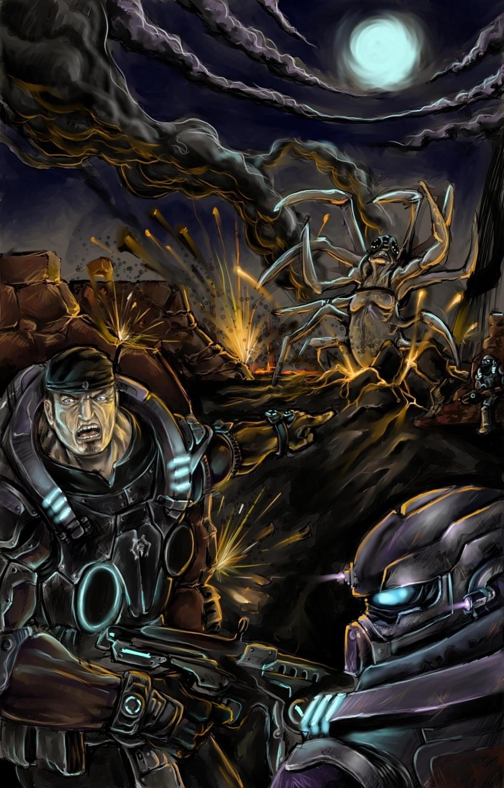 Gears of war by RNZZZ