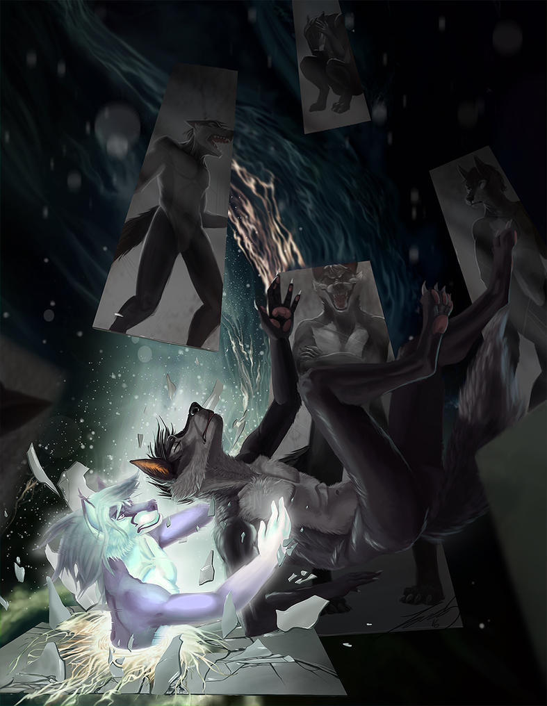 Eternally Lost in the Abyss by DrawWithLaura