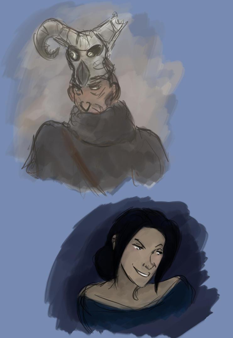 Merasmus and Zhanna by DoriDoriSushi