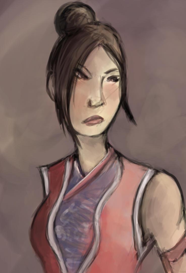 that lady from Jade Empire by DoriDoriSushi