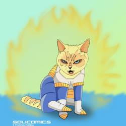 Nekosaiyajin by Solicomics