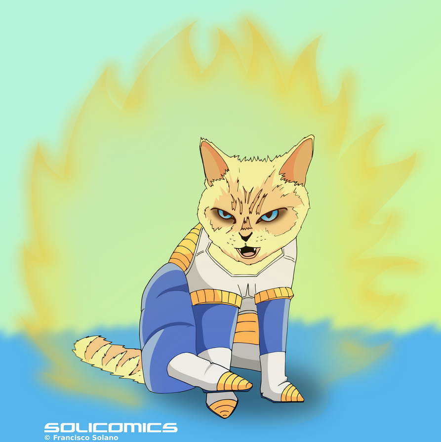 Nekosaiyajin by Solicomics