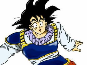 Goku Yadrat custome by Solicomics