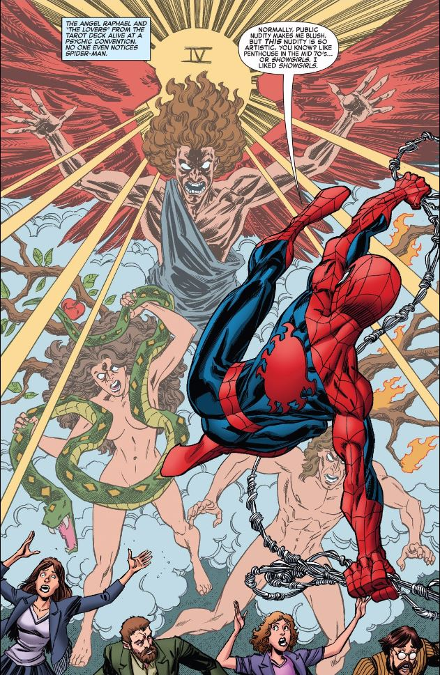 Spider Man Tarot by pharmmajor